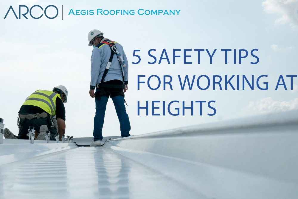 5 Safety Tips For Working At Heights