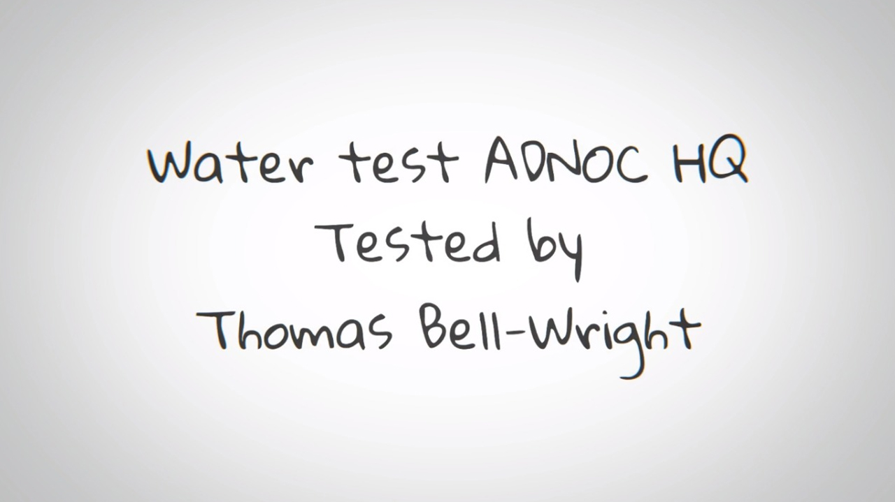 image of water test
