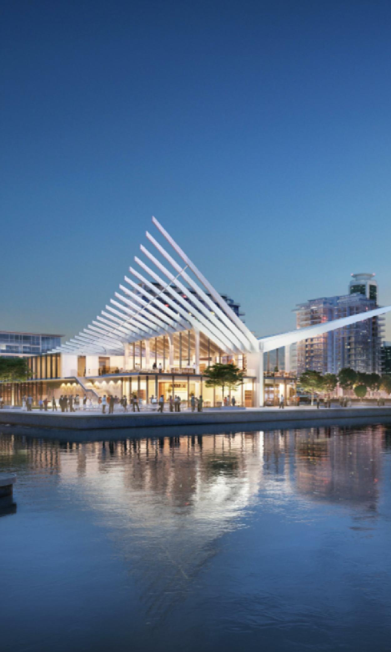 Dubai Harbour Master Building